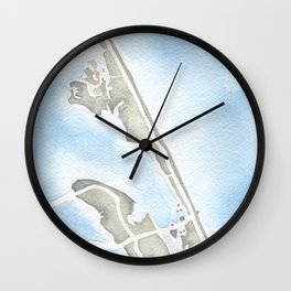 Nags Head North Carolina Wall Clock