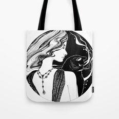 Go Black Tote Bag