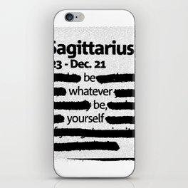 Sagittarius 1 iPhone Skin