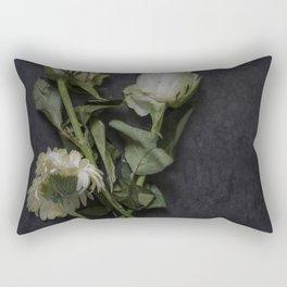 Wilting Flowers Rectangular Pillow