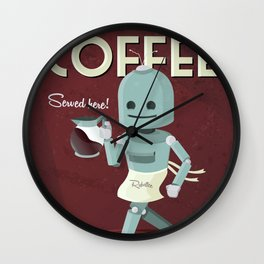 Roboffee Wall Clock