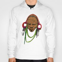 africa Hoodies featuring AFRICA by ZE-DESIGN