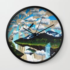 The Lion the Witch and the Wardrobe Wall Clock