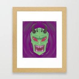 Realistic Invader Zim Framed Art Print