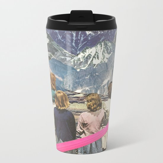 Rocks Metal Travel Mug