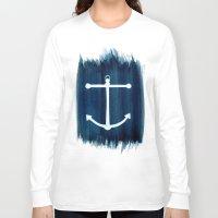 anchor Long Sleeve T-shirts featuring Anchor by Bridget Davidson