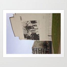 Berlin: Bernauer Straße Art Print