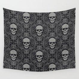 skull texture Wall Tapestry