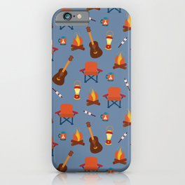 Outdoor Summer Camping iPhone Case