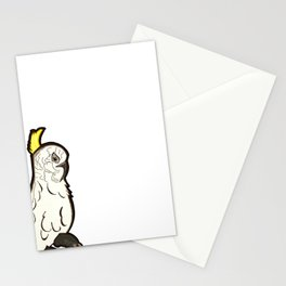 Australian Native Bird - Cockatoo Stationery Cards