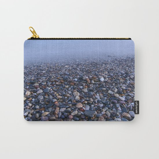 """""""Multicolored beach"""". At sunset Carry-All Pouch"""