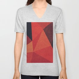 Abstract geometric patter.Triangle background Unisex V-Neck