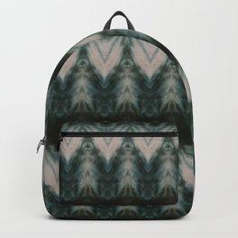 Shades of Green Shibori Backpack