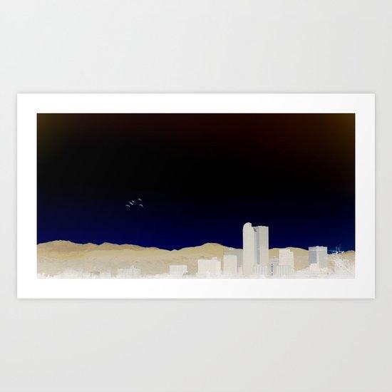 Denver Flyby Art Print