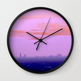 Sweet Sunset Wall Clock