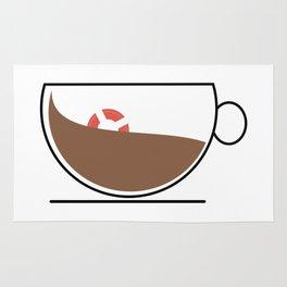 Coffee Wave Rug