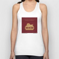 apocalypse now Tank Tops featuring No006 My Apocalypse Now minimal movie poster by Chungkong
