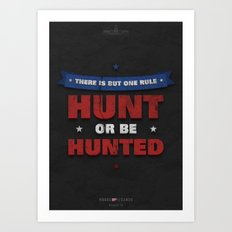 House of Cards - Chapter 14 Art Print