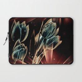 Blaue Tulpen Laptop Sleeve