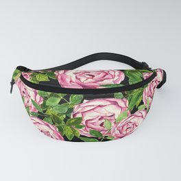 Neck Gaiter America Pink Roses Face Mask Bandana Balaclava Headband Made in the USA Fanny Pack