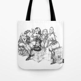 Love and Geometry Tote Bag