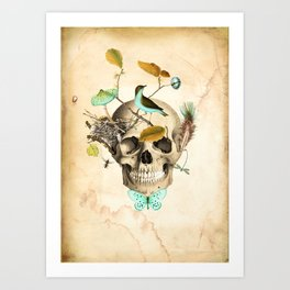 Returned to the earth Art Print