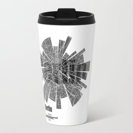 Berlin Map Travel Mug