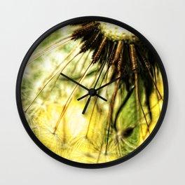 Dandelion 7 Wall Clock