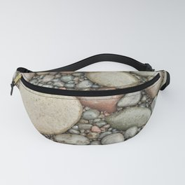 Rocks on the beach Fanny Pack