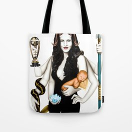"""MOTHER GODDESS     """"The Planet Earth Awards, Beyond Superstition"""" Tote Bag"""