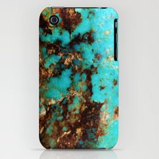 Turquoise I iPhone (3g, 3gs) Slim Case