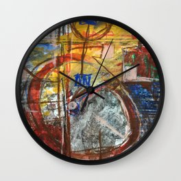 Logic 100 Wall Clock