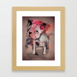 INDELIBLY Framed Art Print