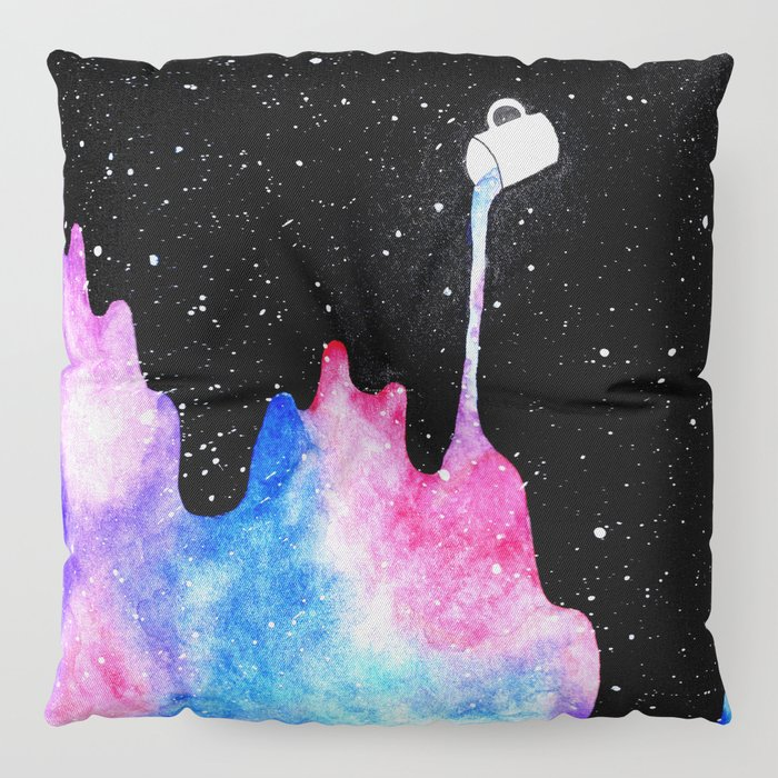 THERE'S COFFEE IN THAT NEBULA II Floor Pillow