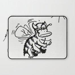 Vanguard of the Viking Ape-Bee Raiding Party Laptop Sleeve