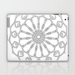 Mandala (Serie, Nr 1) Laptop & iPad Skin