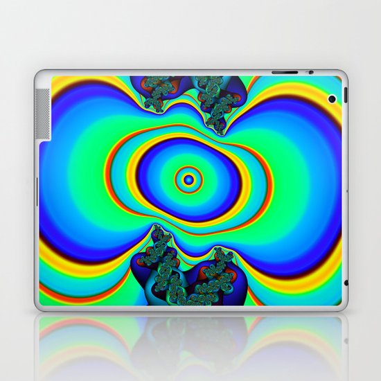Rainbow Frequency Laptop & iPad Skin