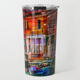 Burano, Venedig Italy Travel Mug