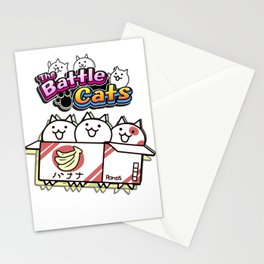 Battle Cats Stationery Cards