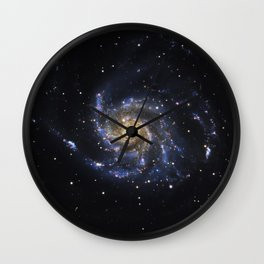 Spiral Galaxy M101 Wall Clock