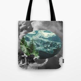 Green Melody Tote Bag