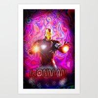 ironman Art Prints featuring Ironman by JT Digital Art