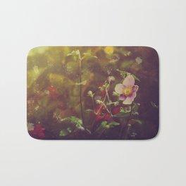 Textured Anemone (Cool Colors) Bath Mat