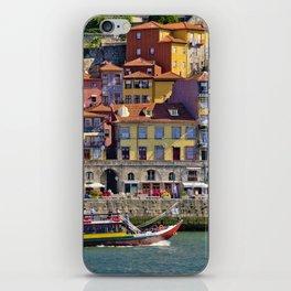Ribeira houses, Oporto iPhone Skin