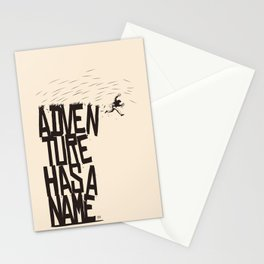 Adventure Has A Name Stationery Cards