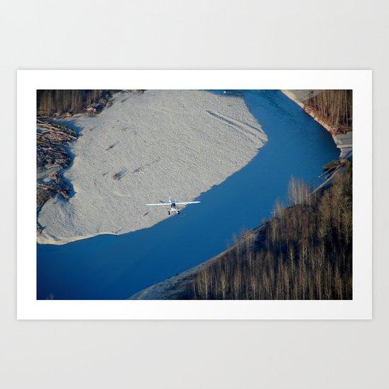 Scenic Flight Art Print
