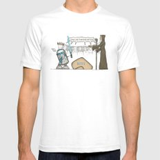 King Artoo Mens Fitted Tee White SMALL