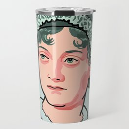 Jane Austen Travel Mug