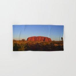 Uluru in the morning Hand & Bath Towel