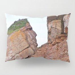 Indian Head Rock Pillow Sham